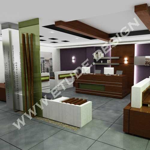 طراحی دکوراسیون اداری تجاری