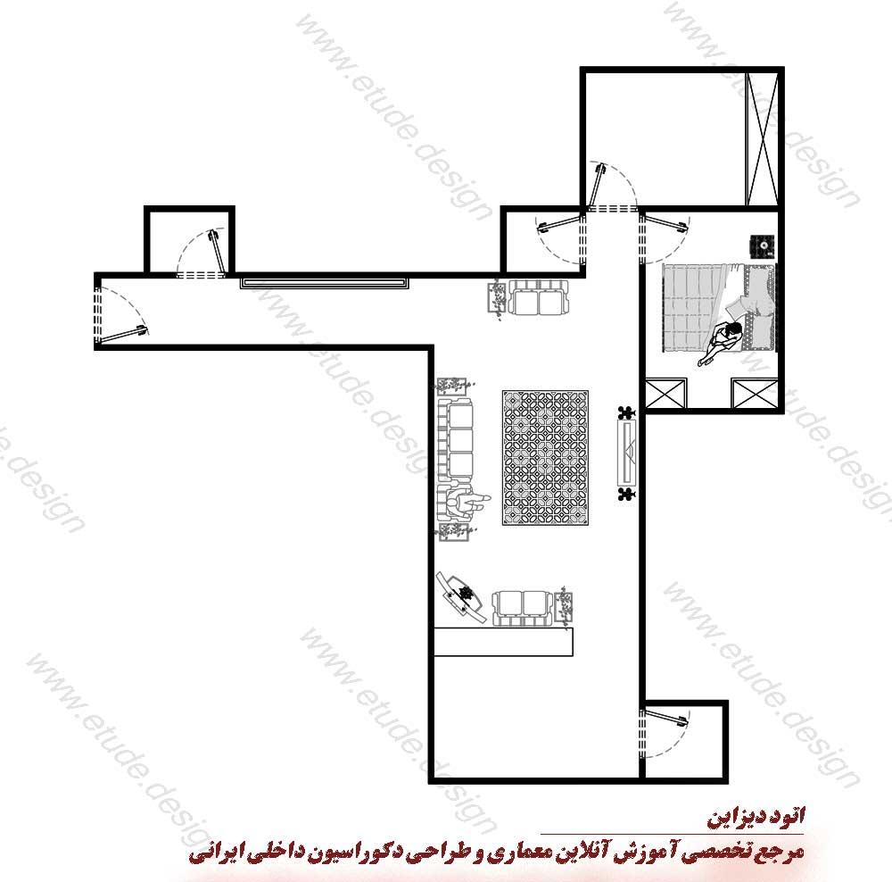 مشاوره رایگان طراحی داخلی منزل