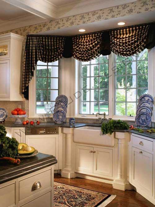 تزیین پرده آشپزخانه