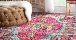 بهترین چیدمان فرش در خانه