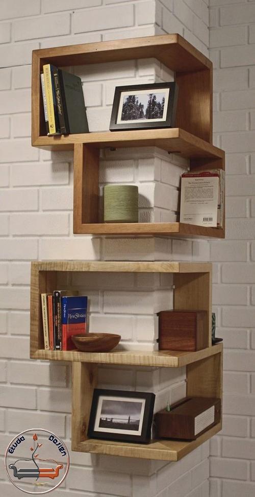 طراحی کتابخانه شیک خانگی