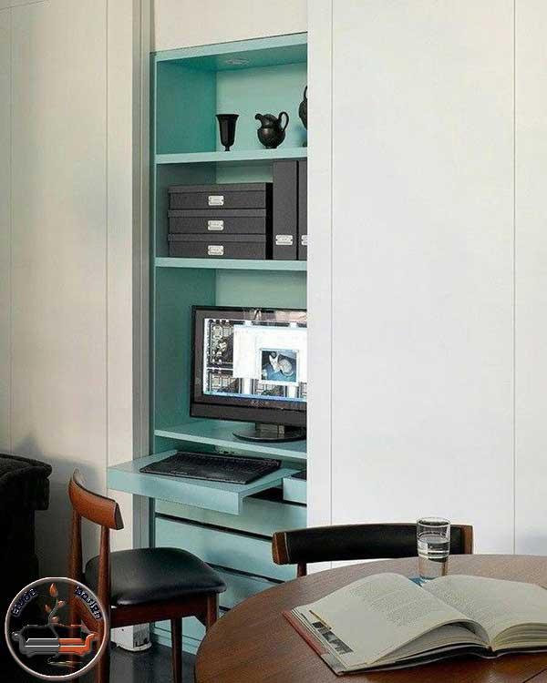 میز کار مدرن زیبا در دکوراسیون منزل