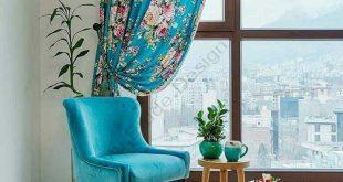 دکوراسیون منزل با رنگ آبی اتود