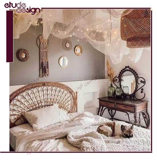 مدل دکوراسیون اتاق خواب صمیمی