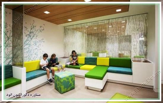 دکوراسیون مطب اطفال