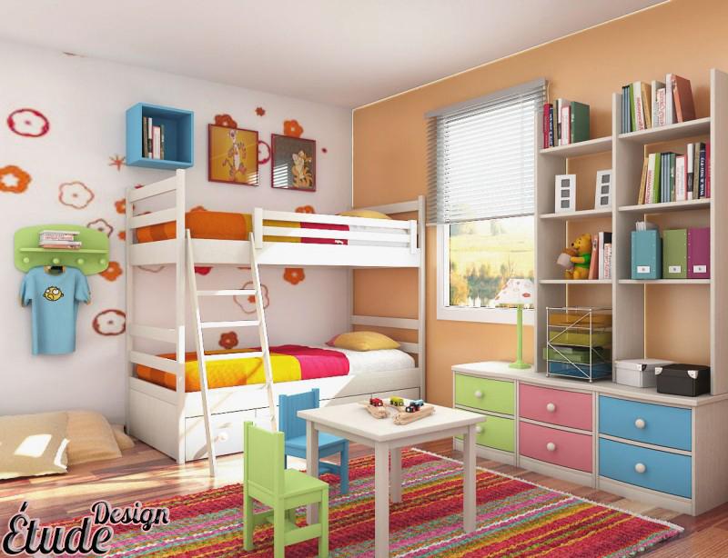 رنگ اتاق خواب کودک