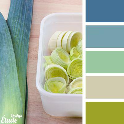 ست رنگ لیمویی پیشنهادی اتود