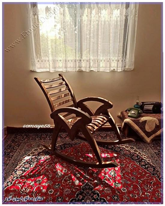 پرده اتاق خواب ساده