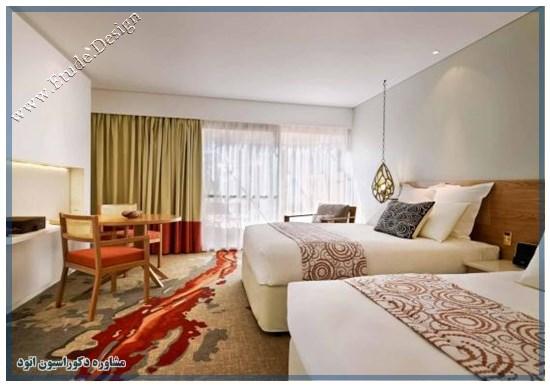 طراحی اتاق خواب هتل