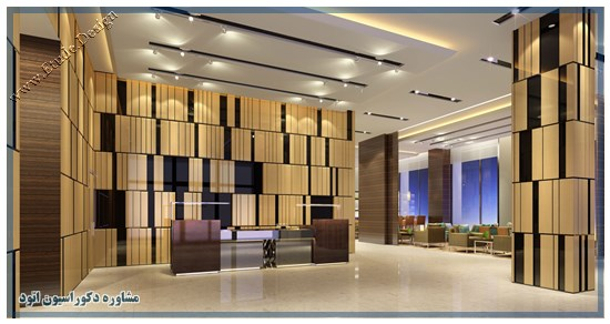 دکور لابی هتل