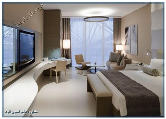 دکوراسیون هتل 5 ستاره