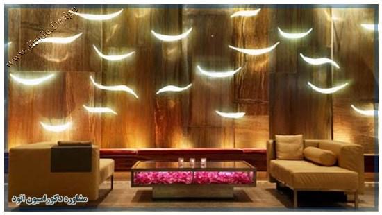 دیزاین لابی هتل