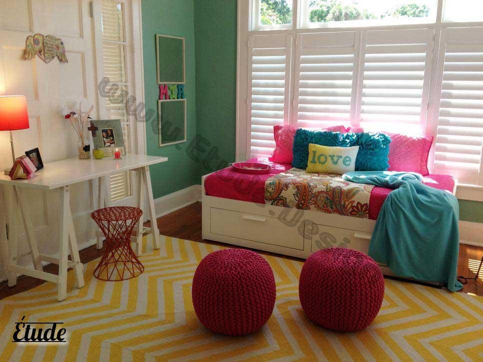 رنگ اتاق کودک - اتاق خواب پسرانه اتاق خواب دخترانه