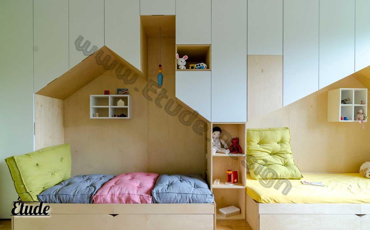رنگ اتاق کودک - تزیین اتاق کودک مشاوره رایگان