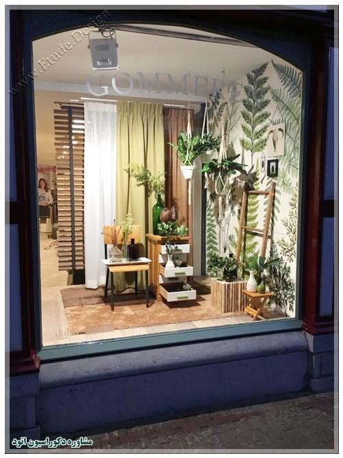 ویترین مغازه پوشاک زنانه