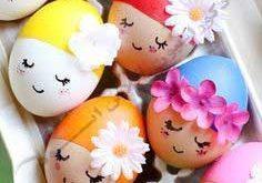 تخم مرغ های زیبای دیزاین شده برای سفره هفت سین