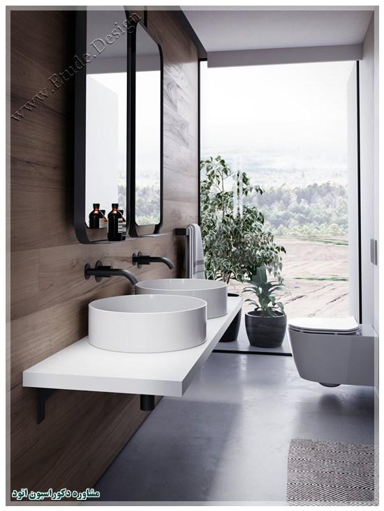 آینه سرویس بهداشتی جدید