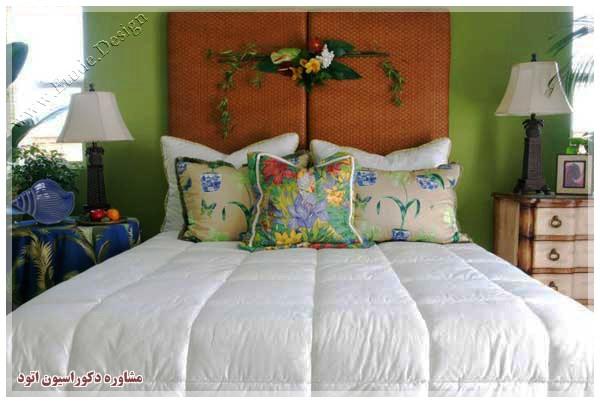 تزیین اتاق خواب با وسایل ساده