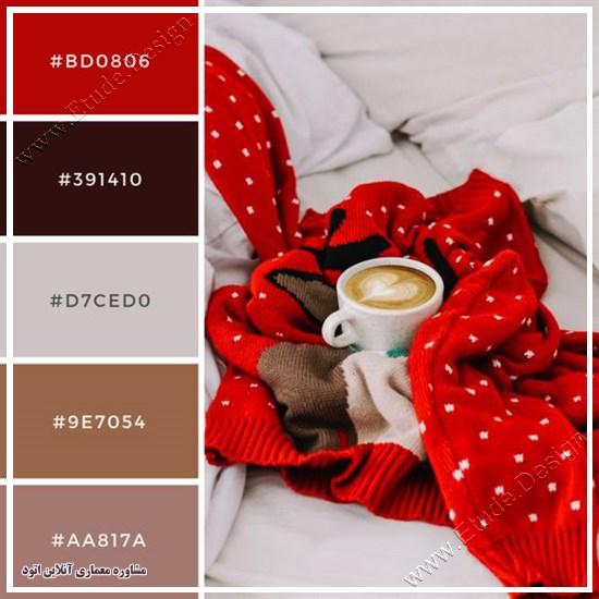 رنگ شاد برای اتاق خواب