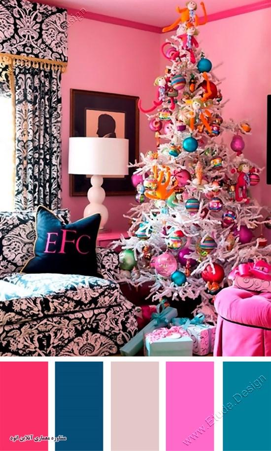 رنگ شاد برای اتاق