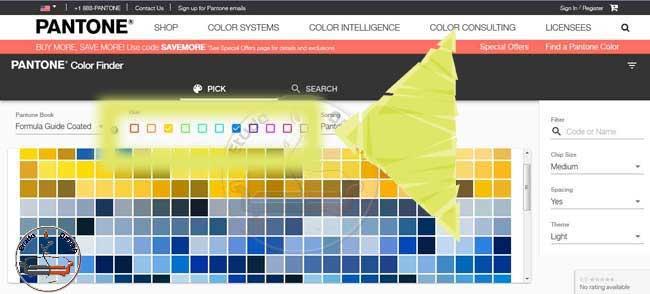 روش تشخیص رنگ
