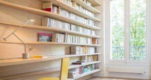 کتابخانه دیواری خانگی