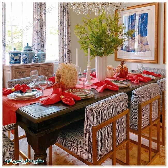 میز ناهارخوری مدرن و شیک و جدید