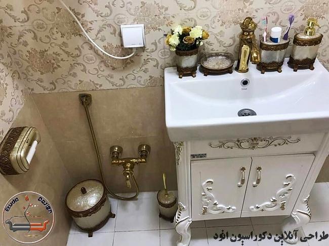 مبلمان استیل طلایی