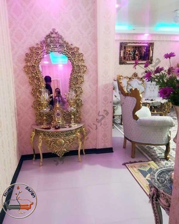 دکوراسیون منزل با مبلمان سلطنتی