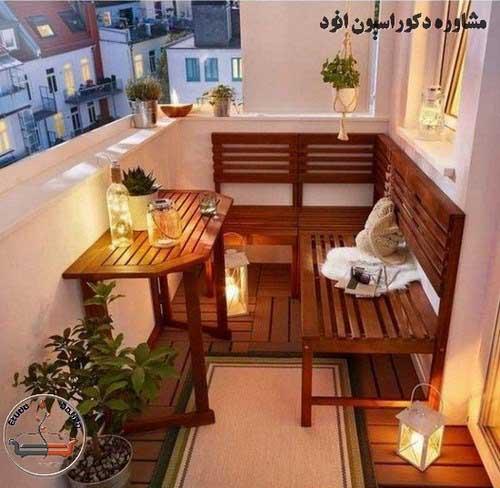 طراحی تراس خانه