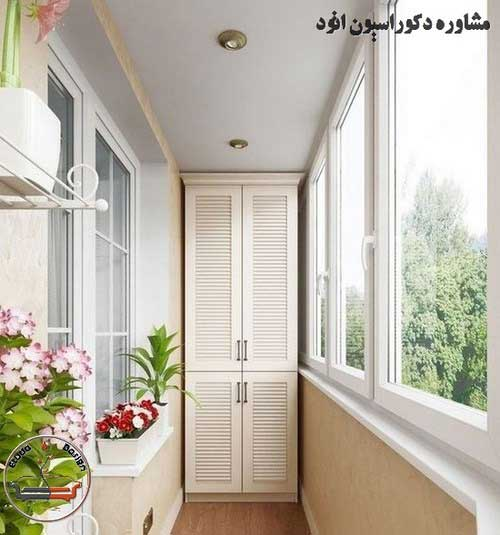 تراس خانه ایرانی