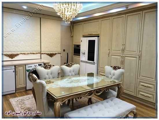 کابینت آشپزخانه کلاسیک