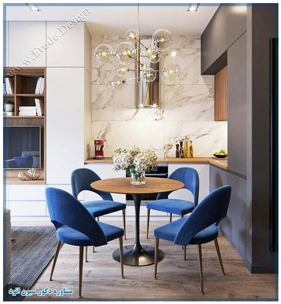 رنگ آبی کلاسیک در دکوراسیون داخلی