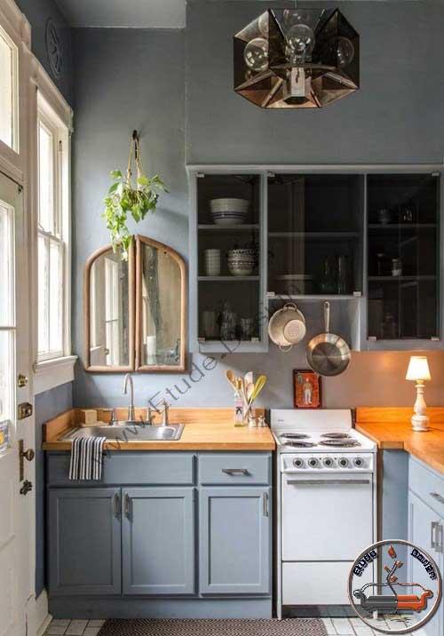 مدل آشپزخانه کوچک مدرن