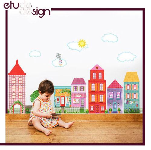 رنگ دیوار اتاق کودک