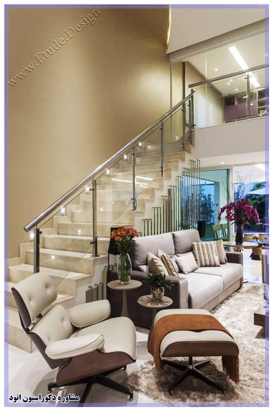 تزیین پله های آپارتمان