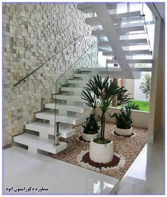 تزیین پله داخل خانه