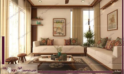 طراحی دکوراسیون داخلی خانه