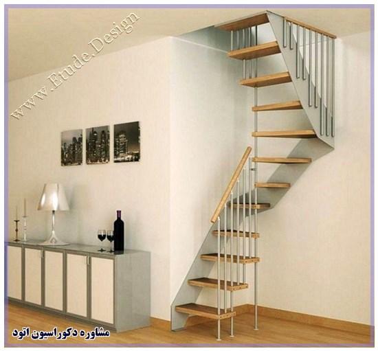 تزیین پله های داخل خانه
