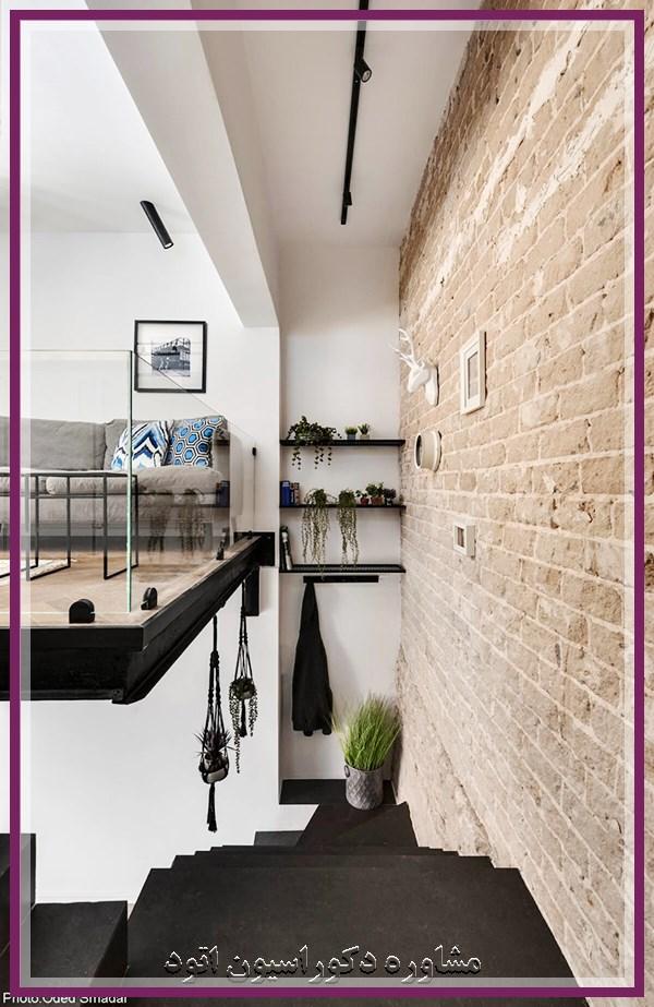 طراحی خانه کوچک دوبلکس