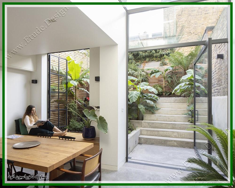 طراحی خانه دوبلکس مدرن