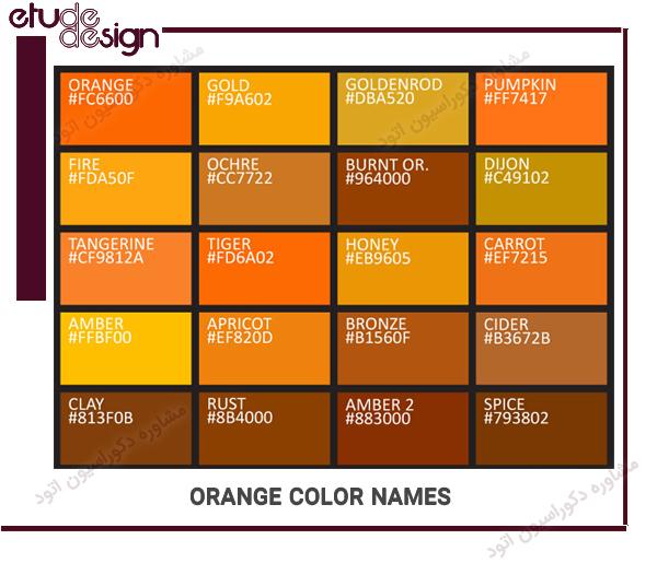 رنگ ها به انگلیسی pdf
