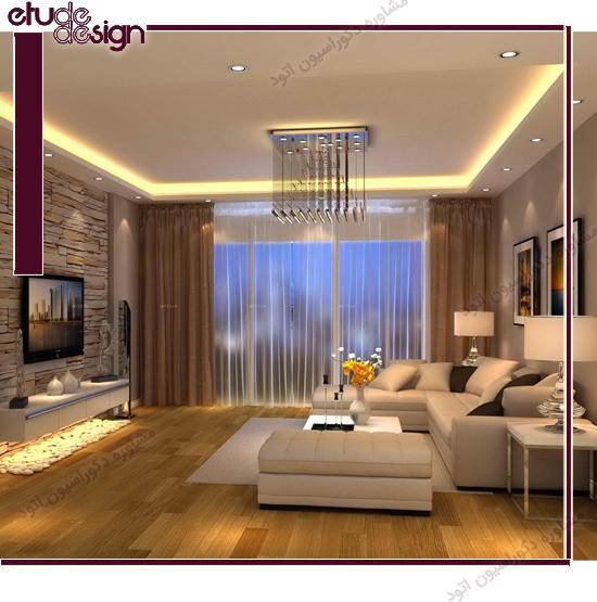 ارتفاع استاندارد نصب تلویزیون روی دیوار