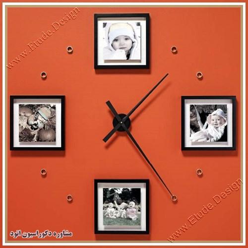 عکس ساعت دیواری