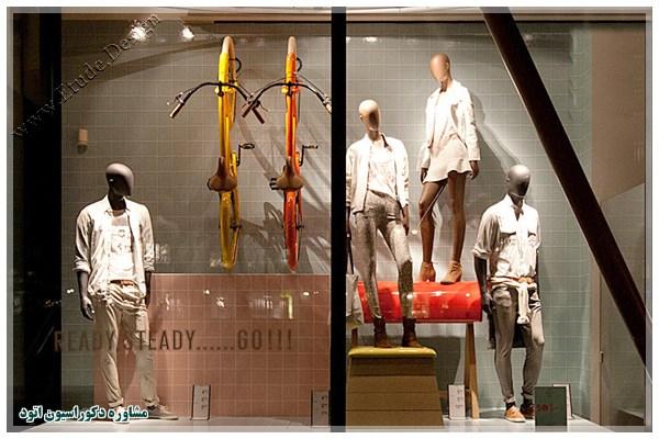 مدل ویترین مغازه