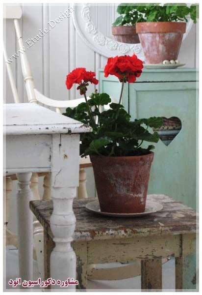 گلدان سفالی شیک