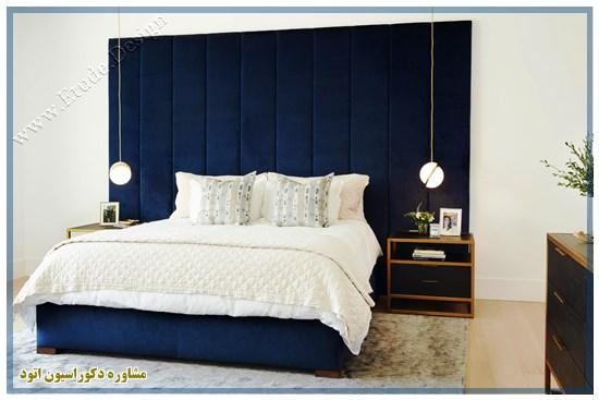 اتاق خواب شیک مدرن طلایی
