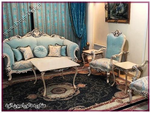 مشاوره دکوراسیون برای انتخاب میز جلومبلی مناسب خانه ایرانی