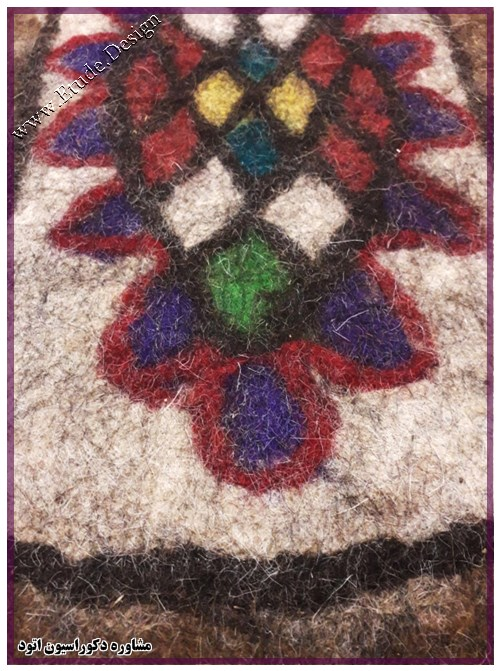 قیمت فرش نمدی