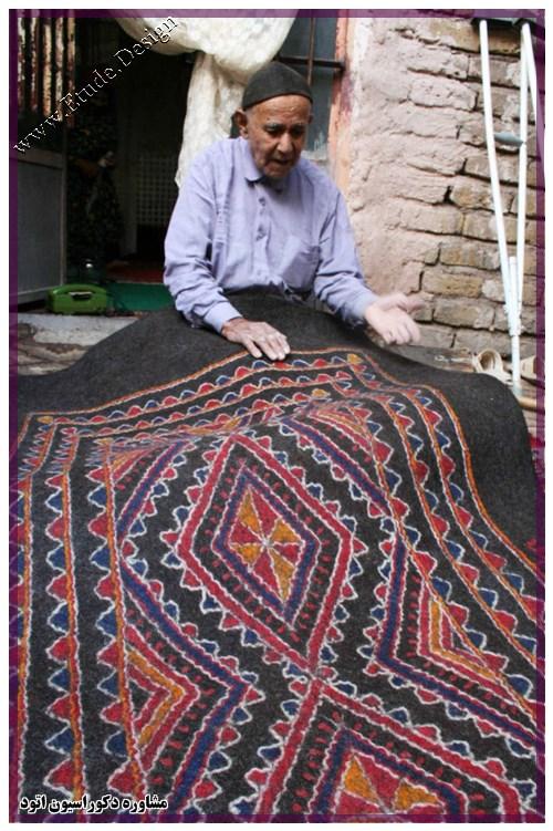 بازار بزرگ تهران نمد